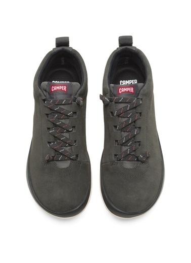 Camper K400481007 Kadın Peu Bağcıklı Füme Ayakkabı Füme